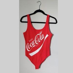 Original Coca Cola bodysuit or leotard. Great for